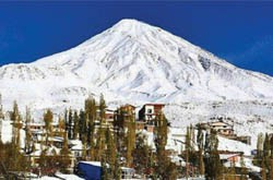 Ski Touring in Mount Damavand Region